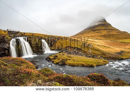 Kirkjufell At Snaefellsnes Peninsula, Iceland