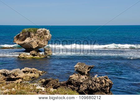 Limestone Seascape: Cape Peron, Western Australia