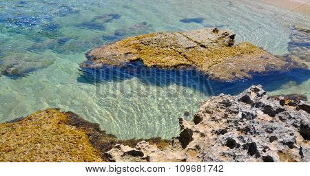 Rocky Reef Waters at Cape Peron, Western Australia