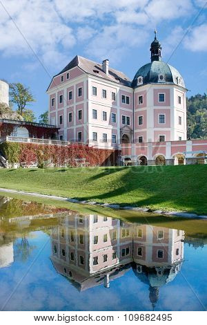 castle Becov nad Teplou, Czech republic
