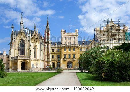 Castle Lednice (unesco), Czech Republic