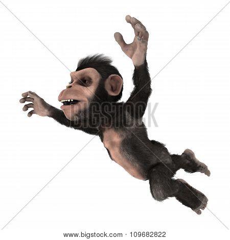 Little Chimp Jumping