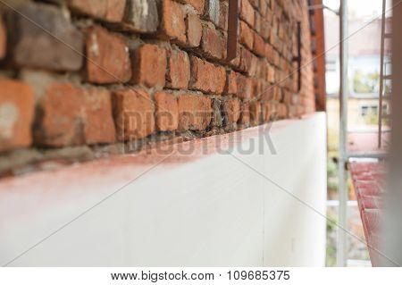 Polystyrene Insulation Brick Building