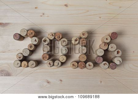 Wine Corks Closeup 2016