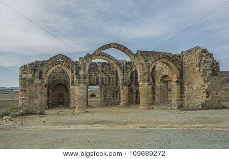 Ruins Of Agios Sozomenos  Nicosia District. Cyprus