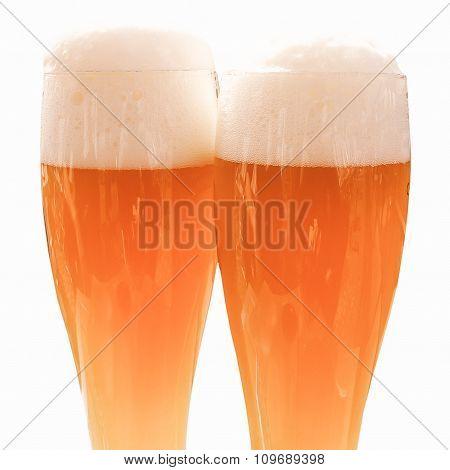 Retro Looking Weisse Beer