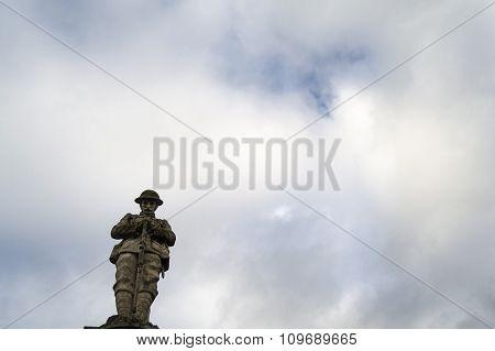 Stone statue