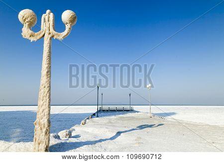 Lamp In Ice