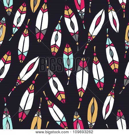 Ethnic aztec pattern.