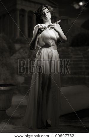 Venus With Flute
