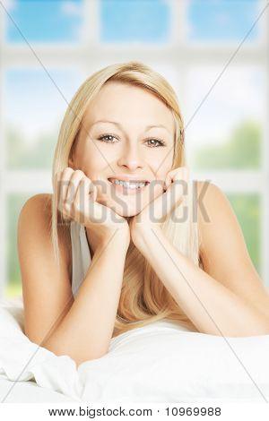Beautiful Woman Relaxing