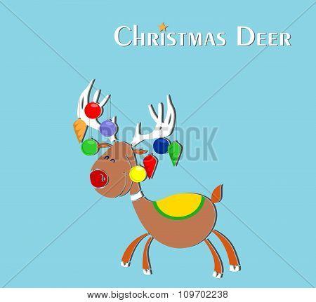 The Christmas Deer