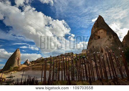 Landscape o of  Cappadocia