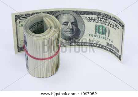 Paper Money In The Sum Of 5000 Us Dollars