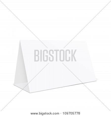 Blank Tent Holder