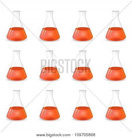 Red Conical Flasks, Scientific Background