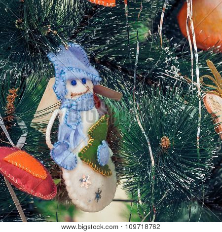 Christmas Toy Snowman