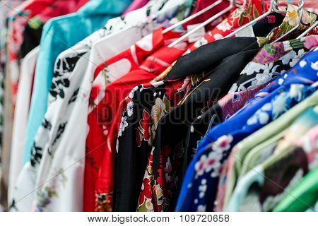 Asian Kimono Selection