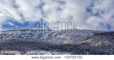 Rtanj Mountain In The Winter