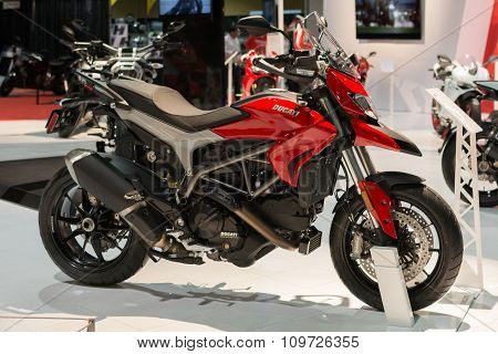 Ducati Hypermotard On Display