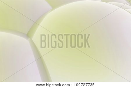3D Yellow Abstract Spheres Background
