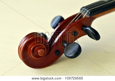 Violin Music Wooden Instrument.
