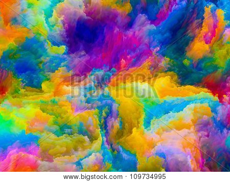 Virtual Life Of Colors