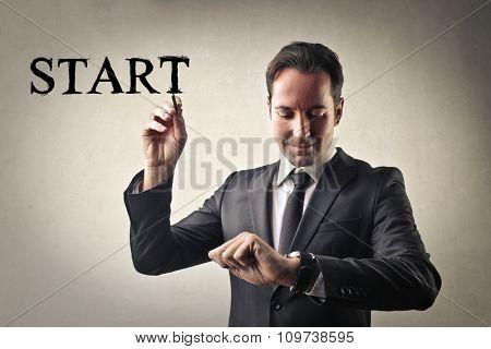 Starting time