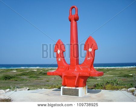 Ship Anchor Memorial To Seamen