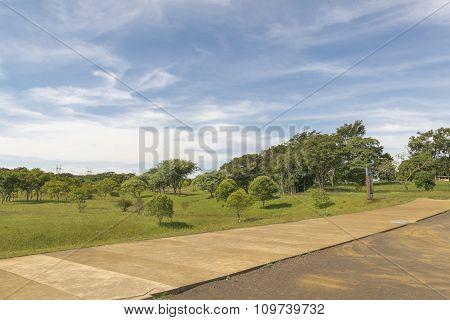 Itaipu Park At Brazilian Border