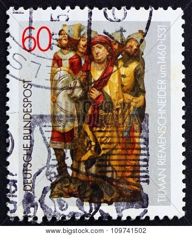 Postage Stamp Germany 1981 Altar Figures By Tilman Riemenschneider