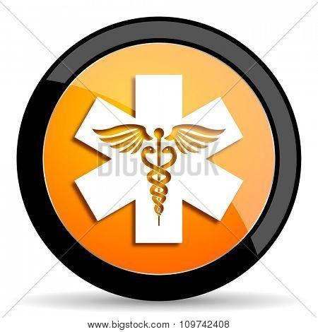 emergency orange icon