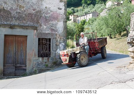 Village Of Benabbio Italy