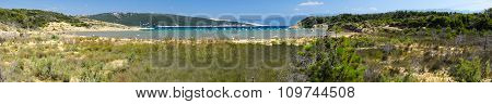 The Pristine Coastline And Crystal Clear Water Of The Island Of Rab.