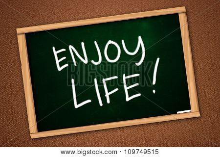 Motivational Words Concept, Enjoy Life