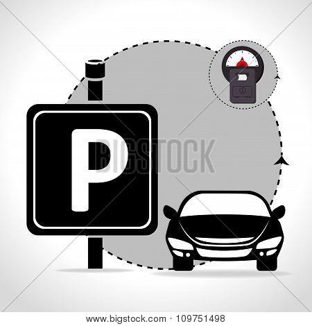 Parking zone graphic