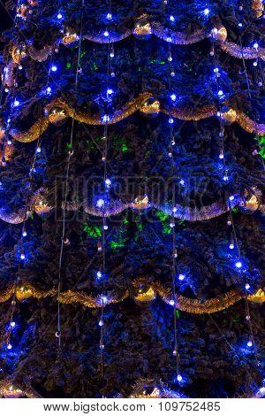 Christmas Tree Street Decoration