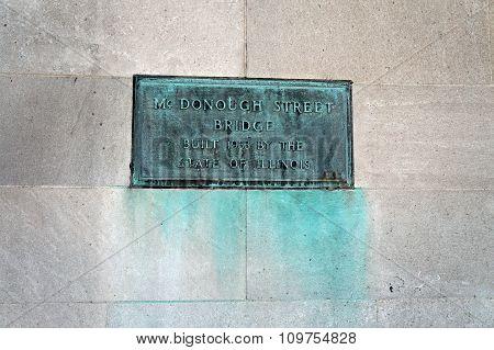 McDonough Street Bridge