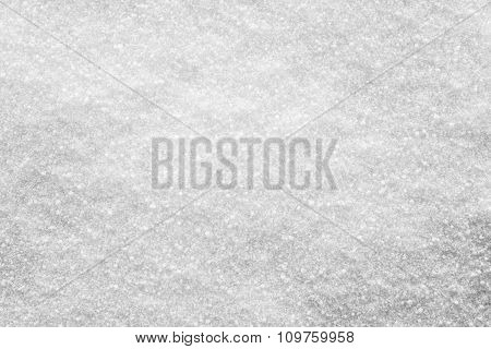 Crystal Texture Of Winter Snow Cover