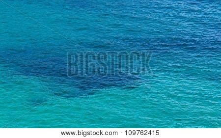 Green And Blue Sea Surface