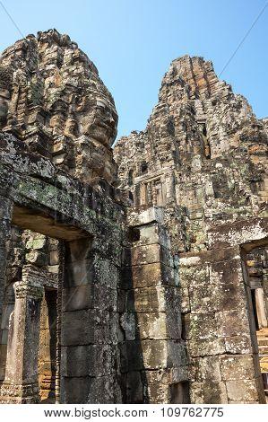 Bayon Temple At Angkor Wat Complex