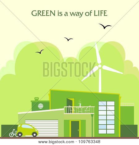 Vector Green home