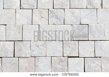 White Granite Cobblestone