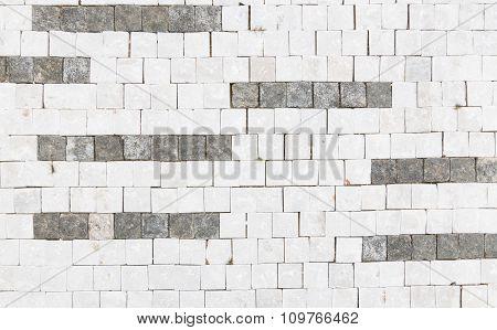 Granite Cobblestoned Background