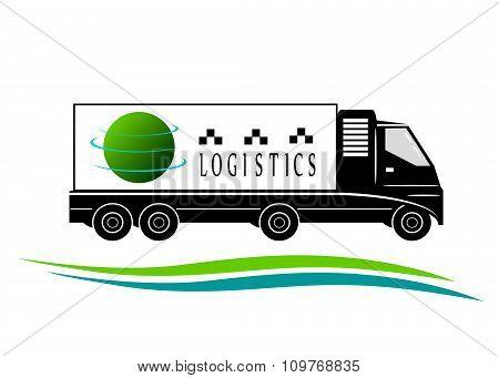 logo transport ,logistics.
