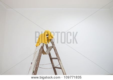 Room with a ladder