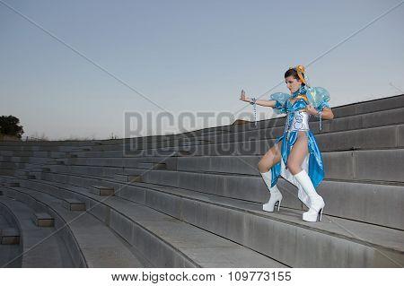 Woman dressed fantasy