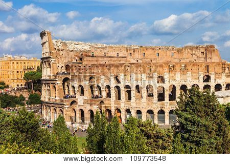 most famous arena in the world- great ancient Colosseum, Rome