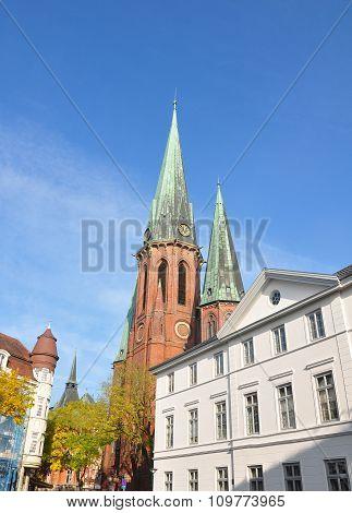 St Lamberti Church In Oldenburg, Germany