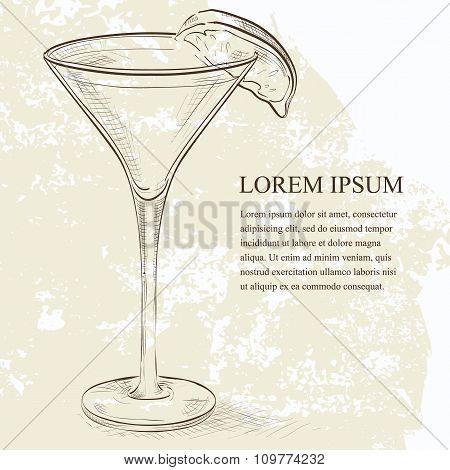 Kamikaze scetch cocktail